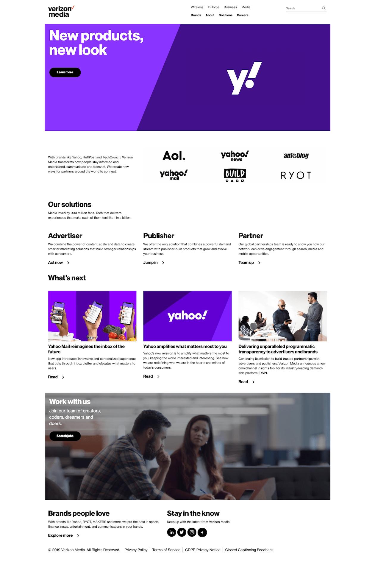 Cover of verizonmedia.com