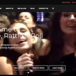 A snapshot of a video cover for Shake Rattle & Roll Dueling Pianos